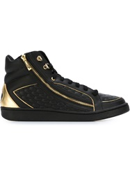 Just Cavalli Hi Top Lace Up Sneakers Black