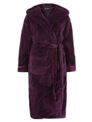 Dorothy Perkins Purple Dressing Gown