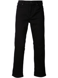 7 For All Mankind Luxe Performance Slimmy Jeans Black
