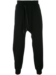 11 By Boris Bidjan Saberi Tape Stripe Track Pants Black