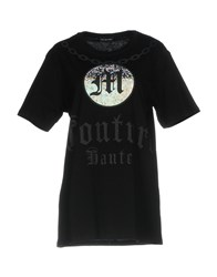 Mnml Couture T Shirts Black