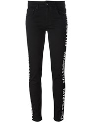 Filles A Papa Cruz Printed Track Pants Black