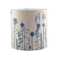 Clarissa Hulse Seed Heads Standard Lampshade Putty Midnight