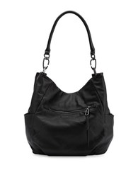 Liebeskind Jeany W Leather Hobo Black