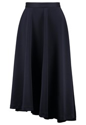 Kiomi Maxi Skirt Dark Blue