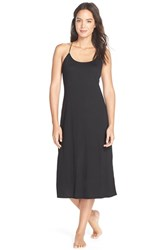 Women's Natori 'Shangri La' Knit Gown Black