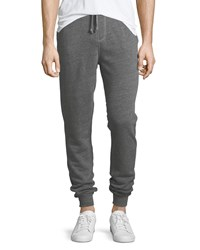 Spiritual Gangster Varsity Heathered Jogger Pants Gray