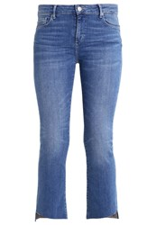Cimarron Amy Straight Leg Jeans Stone Blue Denim