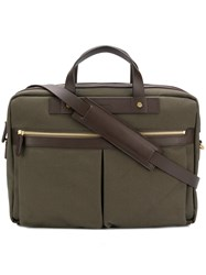 Mismo Ms Office Laptop Bag Green