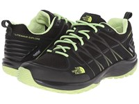 The North Face Litewave Explore Wp Tnf Black Budding Green Women's Shoes