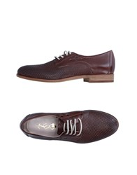 Keb Lace Up Shoes Brown