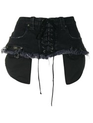 Unravel Project Corset Belt Black