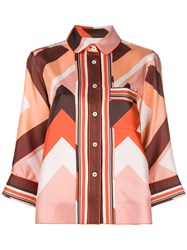 F.R.S For Restless Sleepers Geometric Print Shirt Multicolour