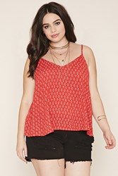 Forever 21 Plus Size Diamond Print Cami
