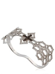 Elise Dray Angelique Double Finger Ring