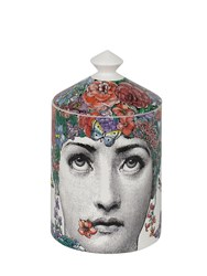 Fornasetti Fior Di Lina Scented Candle With Lid Multicolor