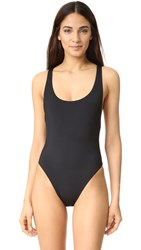 Red Carter '80S One Piece Black
