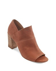 Me Too Mckenna Leather Ankle Boots Tan