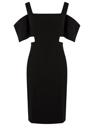 Reinaldo Lourenco Slim Fit Dress Black