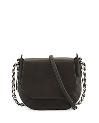 Rag And Bone Bradbury Mini Flap Chain Hobo Bag Black Rag And Bone
