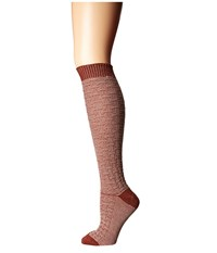 Wigwam Ryn Burnt Henna Women's Crew Cut Socks Shoes Orange