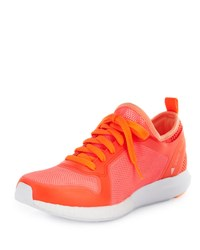 Adidas By Stella Mccartney Cc Sonic Knit Sneaker Red White