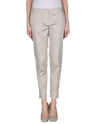 Naf Naf Casual Pants Light Grey