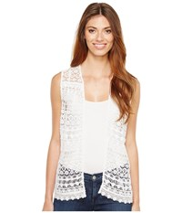 Ariat Lace Vest White Women's Vest