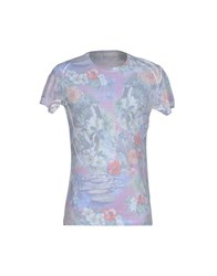Massimo Rebecchi Topwear T Shirts Men Light Grey