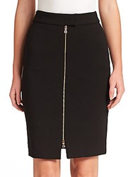 L'agence Corine Zip Skirt Black