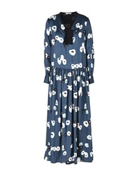 Hope Collection Long Dresses Dark Blue