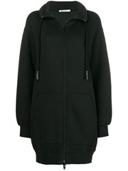 Alexander Wang T By Oversized Zipped Sweater Black