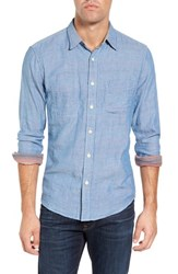 Faherty Men's Belmar Long Sleeve Reversible Sport Shirt