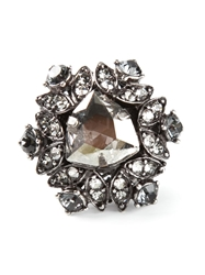 Lanvin Embellished Ring Metallic