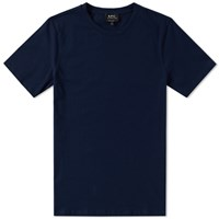 A.P.C. Jimmy Tee Blue