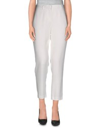 Tara Jarmon Trousers Casual Trousers Women White