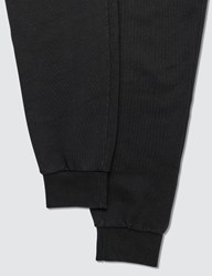 Maison Kitsune Tricolor Fox Patch Classic Jog Pants Black