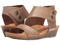 Rockport Cobb Hill Collection Hollywood Two Piece Cuff Khaki Vintage Women's Sandals