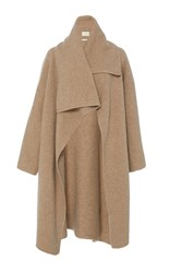 Lauren Manoogian Cashmere Blanket Coat Brown