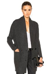Soyer Cashmere Cardigan In Gray