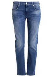 7 For All Mankind Relaxed Fit Jeans Left Hand Mid Light Blue Denim