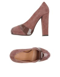 Altiebassi Pumps Mauve