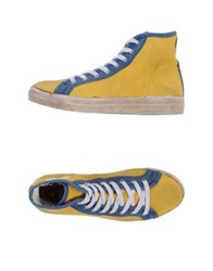 Cycle High Tops And Trainers Yellow