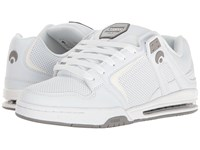 Osiris Pxl White Grey White Men's Skate Shoes