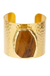 Charlene K Tiger Eye Cuff Metallic