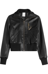 Anthony Vaccarello Leather Jacket