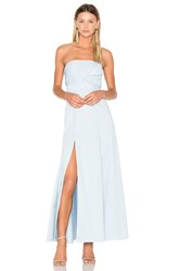 Fame And Partners Sandrine Maxi Dress Baby Blue