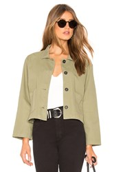 07c82785f6d Velvet By Graham And Spencer Magdalin Cropped Jacket Army