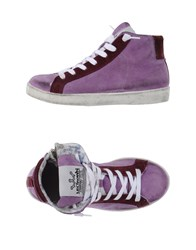 Le Crown Footwear High Tops And Trainers Women Purple