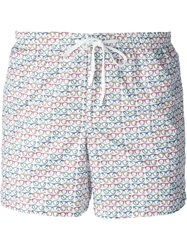 Fe Fe Fefe Glasses Print Swim Shorts